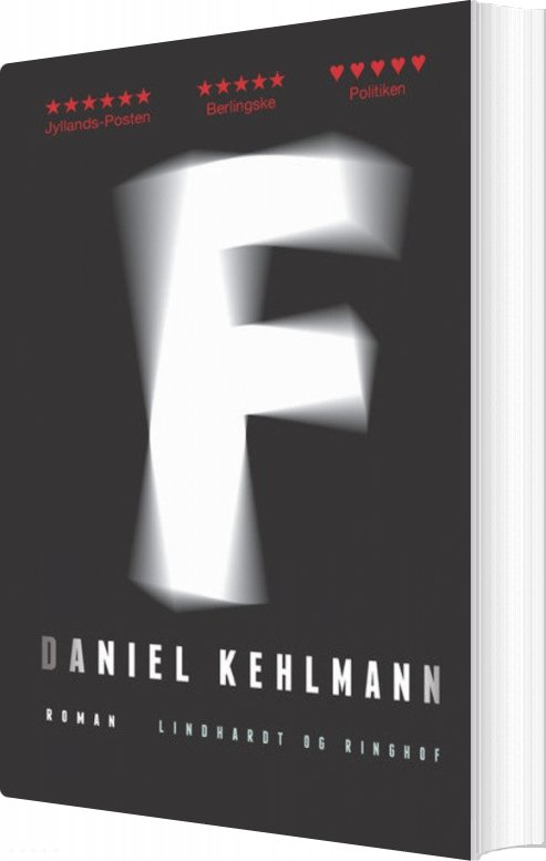 Image of   F - Daniel Kehlmann - Bog