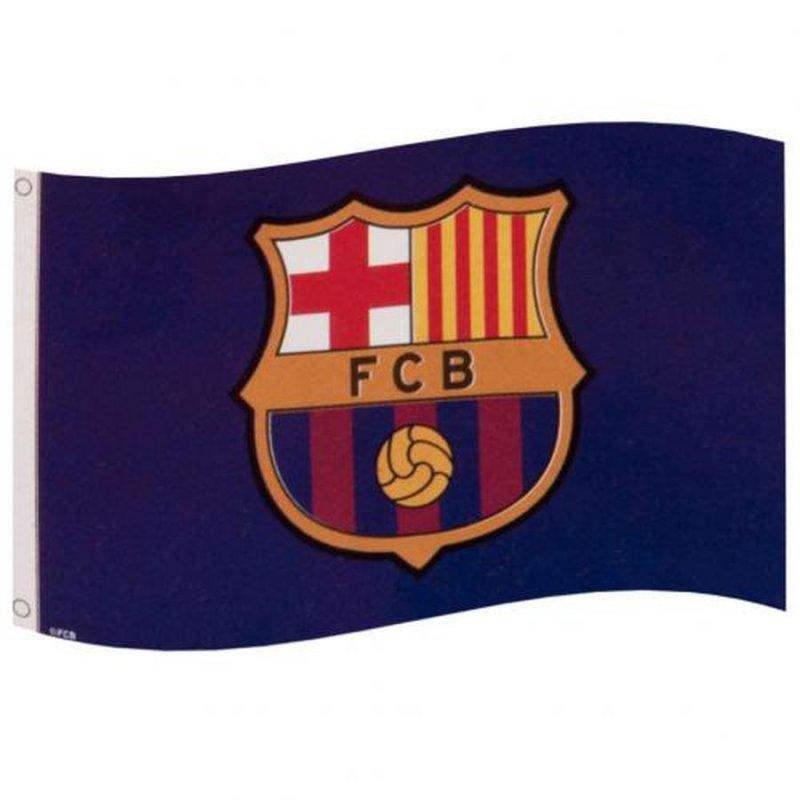 Image of   Fc Barcelona Flag - Merchandise