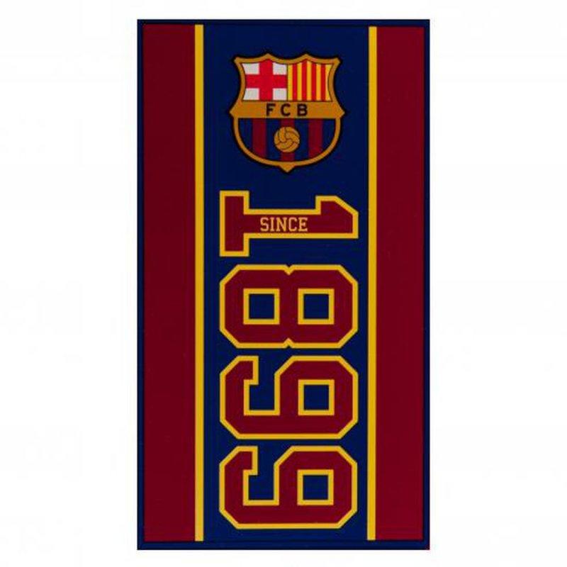 Image of   Fc Barcelona Håndklæde Med Logo