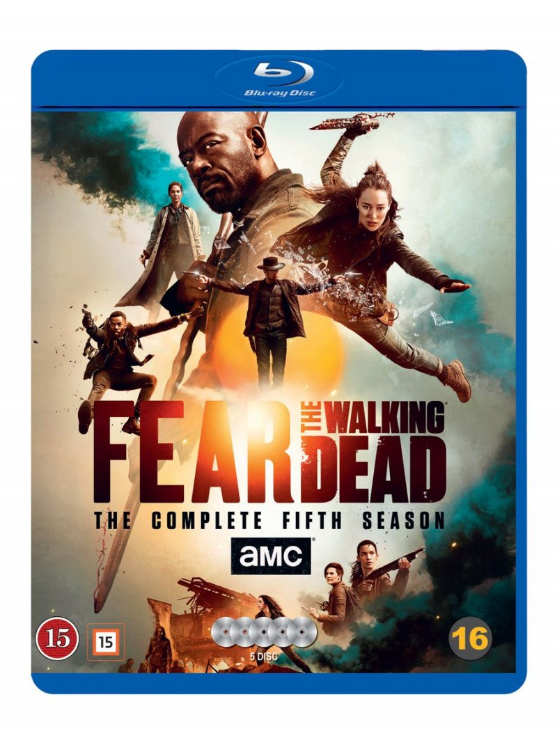 Image of   Fear The Walking Dead - Sæson 5 - Blu-Ray - Tv-serie