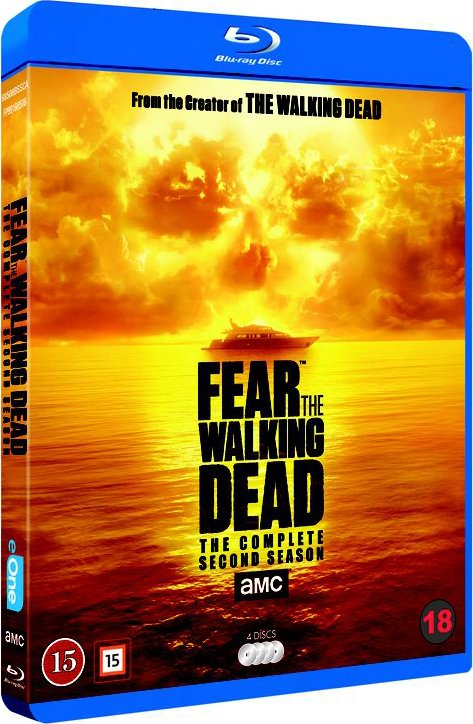 Image of   Fear The Walking Dead - Sæson 2 - Blu-Ray - Tv-serie