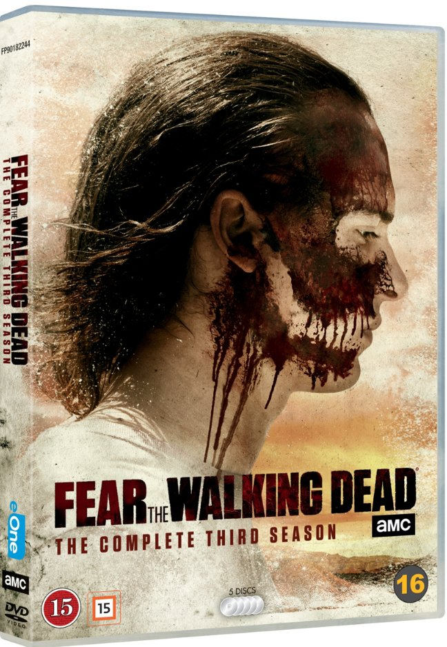 Image of   Fear The Walking Dead - Sæson 3 - DVD - Tv-serie