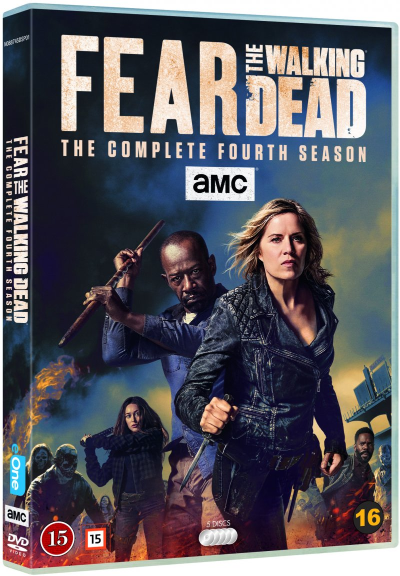 Image of   Fear The Walking Dead - Sæson 4 - DVD - Tv-serie
