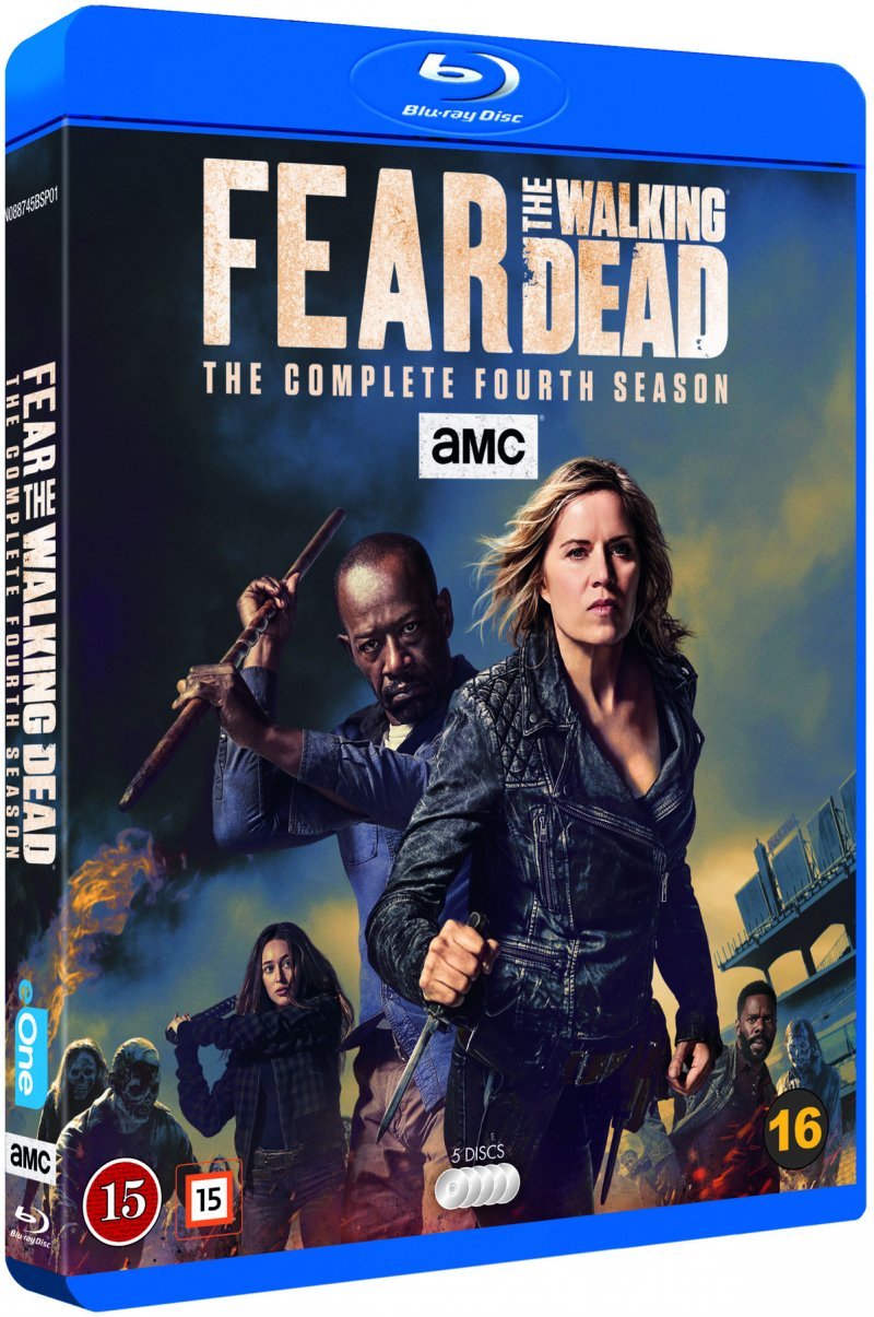 Image of   Fear The Walking Dead - Sæson 4 - Blu-Ray - Tv-serie