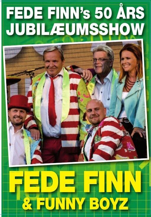 Fede Finn Og Funny Boyz - 50 års Jubilæums Show - DVD - Film