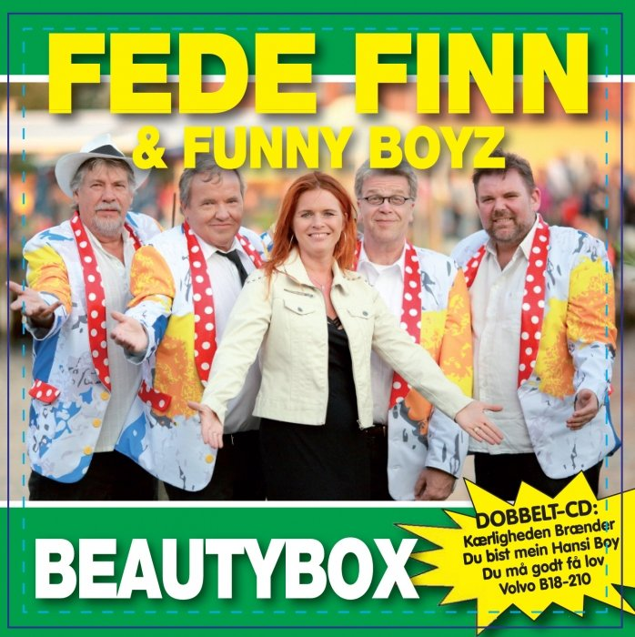 Image of   Fede Finn Og Funny Boyz - Beautybox - CD