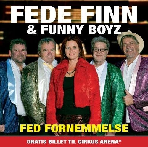 Image of   Fede Finn Og Funny Boyz - Fed Fornemmelse - CD