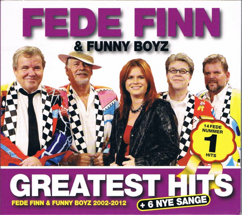 Image of   Fede Finn Og Funny Boyz - Greatest Hits Og 6 Nye - CD