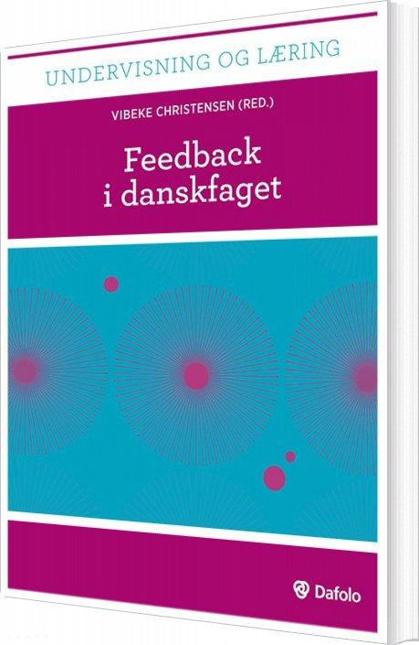 Image of   Feedback I Danskfaget (inkl. Hjemmeside) - Jens Jørgen Hansen - Bog