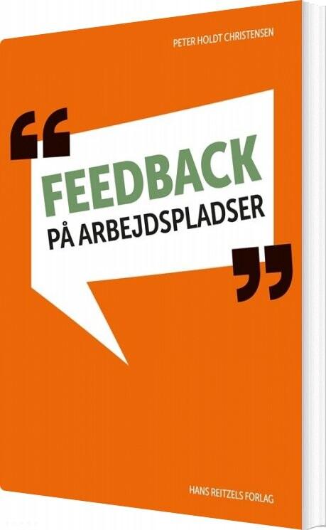 Image of   Feedback På Arbejdspladser - Peter Holdt Christensen - Bog