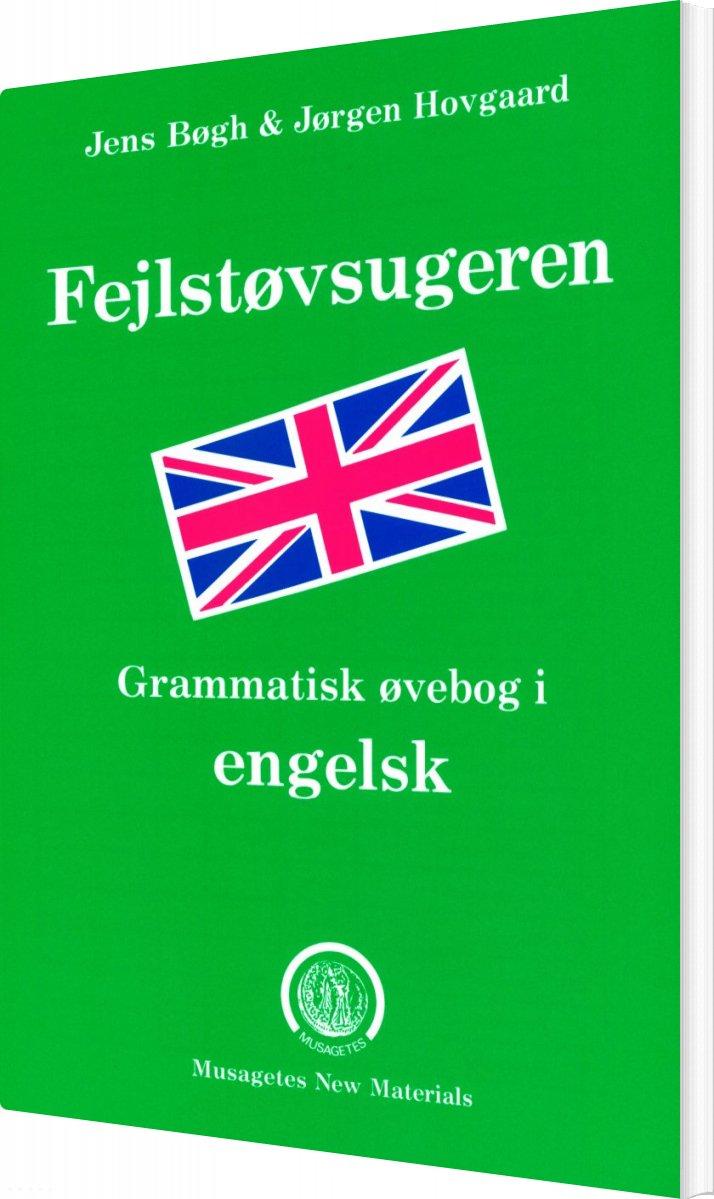 engelsk grammatik bøger