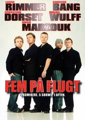 Image of   Fem På Flugt - DVD - Film