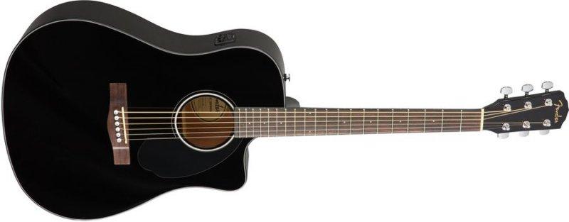 Fender Cd-60sce Akustisk Guitar - Sort