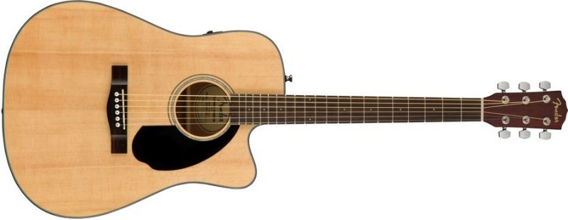 Fender Cd-60sce Akustisk Guitar - Natural