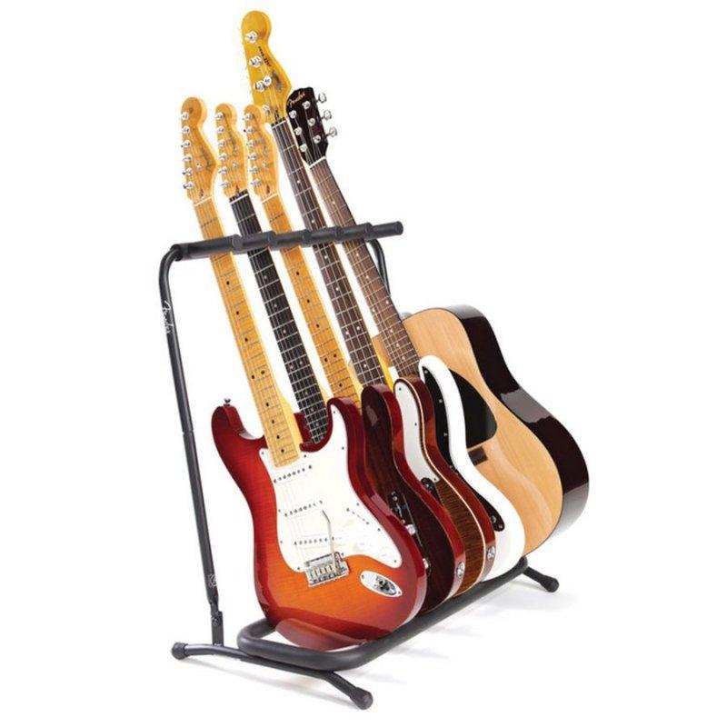 Image of   Fender Multi Guitar Stand Til 5 Guitar Eller Bas