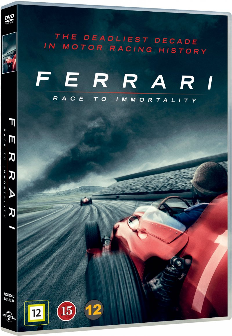 Image of   Ferrari - Race To Immortality - DVD - Film