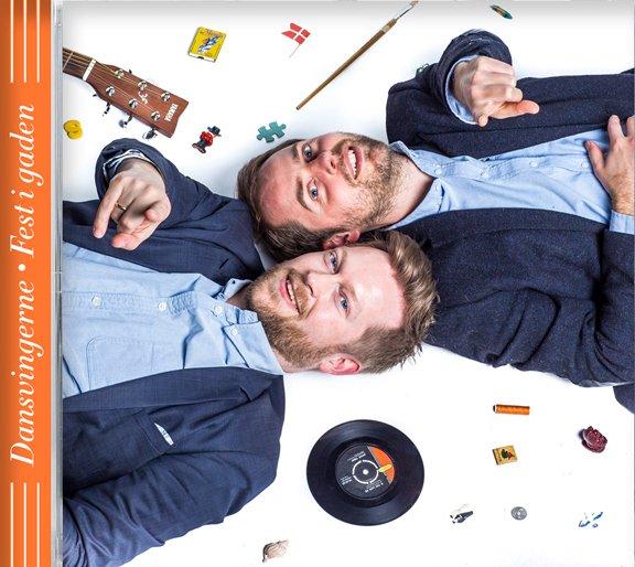 Image of   Dansvingerne - Fest I Gaden - CD
