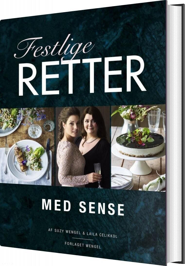 Image of   Festlige Retter Med Sense - Suzy Wengel - Bog
