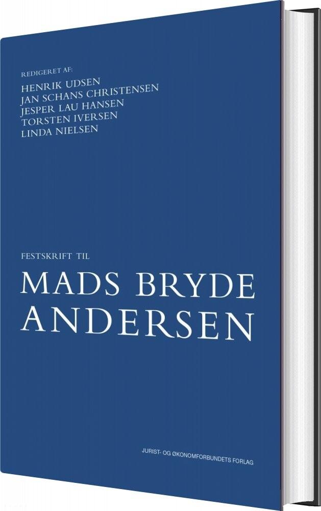 Image of   Festskrift Til Mads Bryde Andersen - Torsten Iversen - Bog