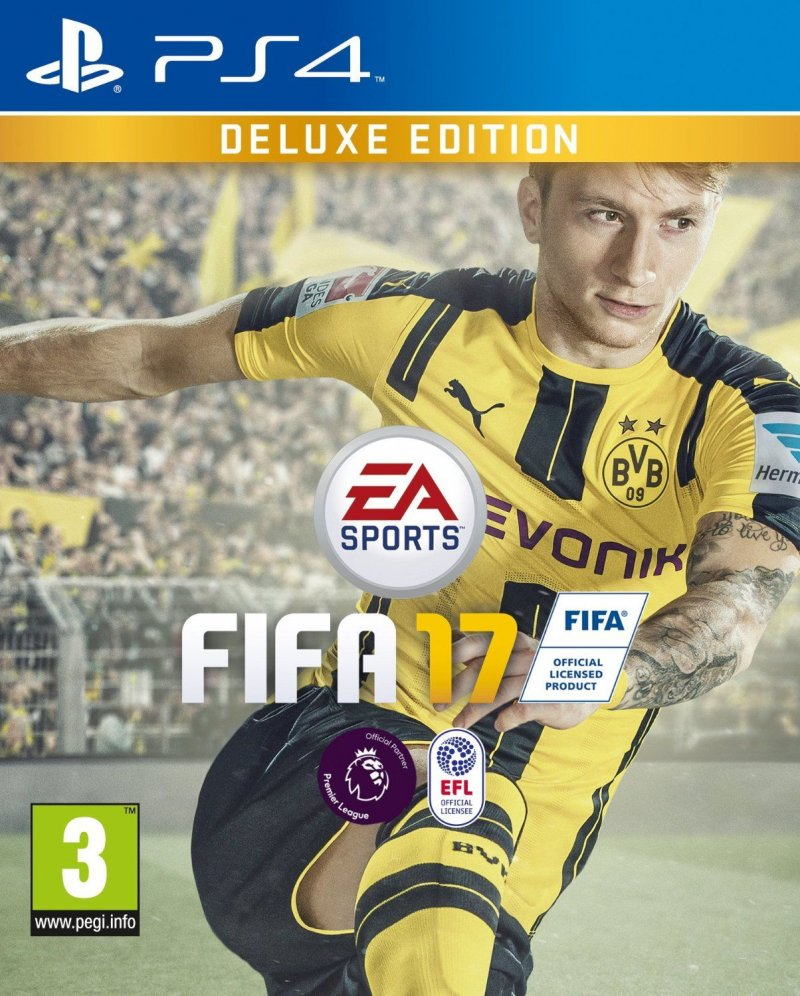 Image of   Fifa 17 / 2017 - Deluxe Edition - Nordic - PS4