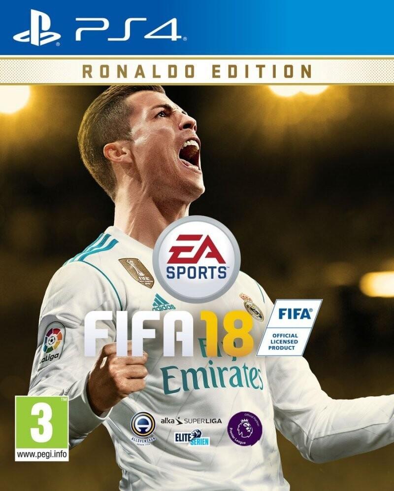 Image of   Fifa 18 / 2018 - Ronaldo Edition - PS4