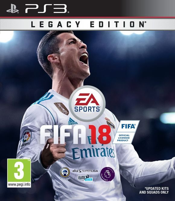 Fifa 18 - Legacy Edition (nordic) - PS3