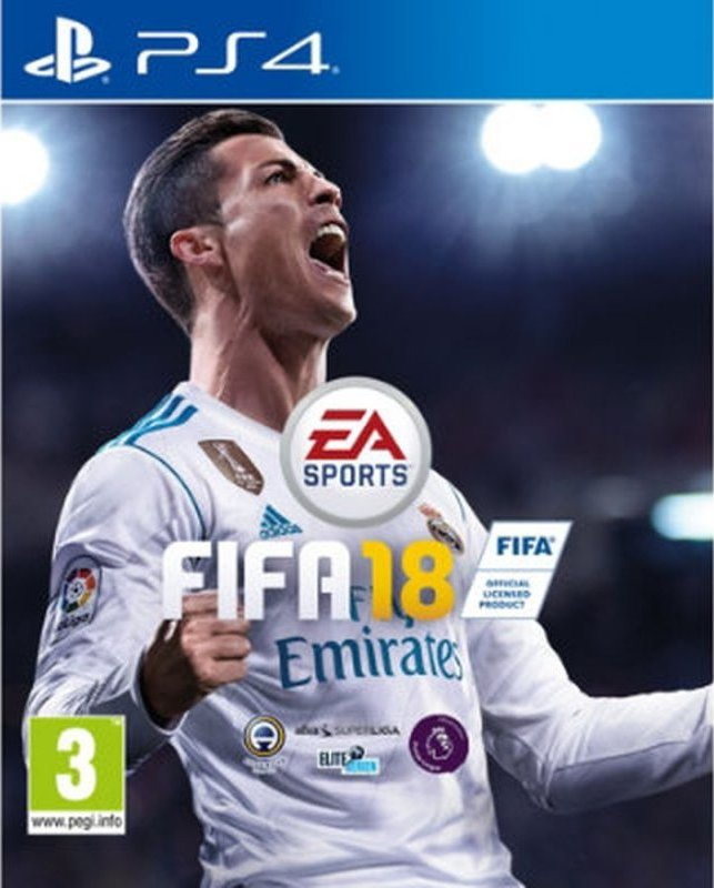 Image of   Fifa 18 - PS4
