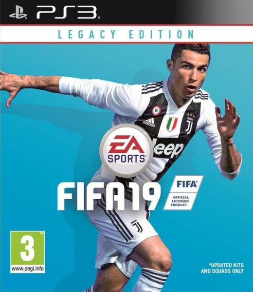 Fifa 19 / 2019 - Legacy Edition - Nordic - PS3