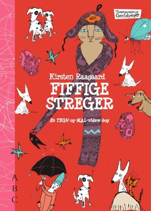 Billede af Fiffige Streger - Kirsten Raagaard - Bog