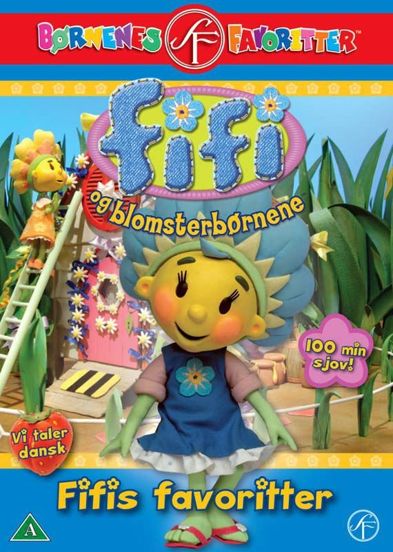 Fifi And The Flowertots / Fifi Og Blomsterbønene - Fifis Favoritter - DVD - Film