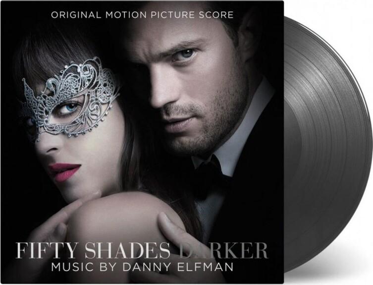 Image of   Danny Elfman - Fifty Shades Darker Soundtrack - Colored - Vinyl / LP