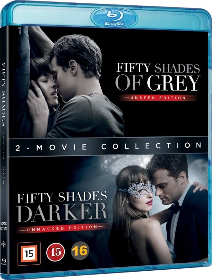 Fifty Shades Of Grey // Fifty Shades Darker - Blu-Ray
