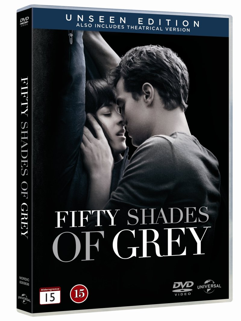 Fifty Shades Of Grey - Unseen Edition - DVD - Film