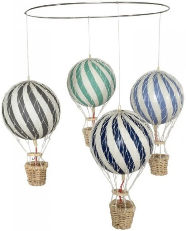 Filibabba Luftballon Uro - Blå / Grøn