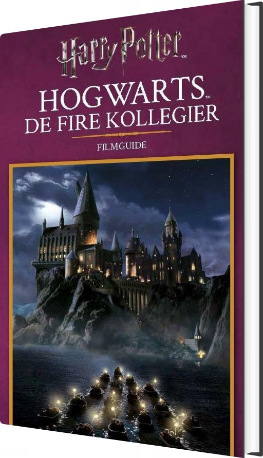 Filmguide: Hogwarts - De Fire Kollegier - Diverse - Bog