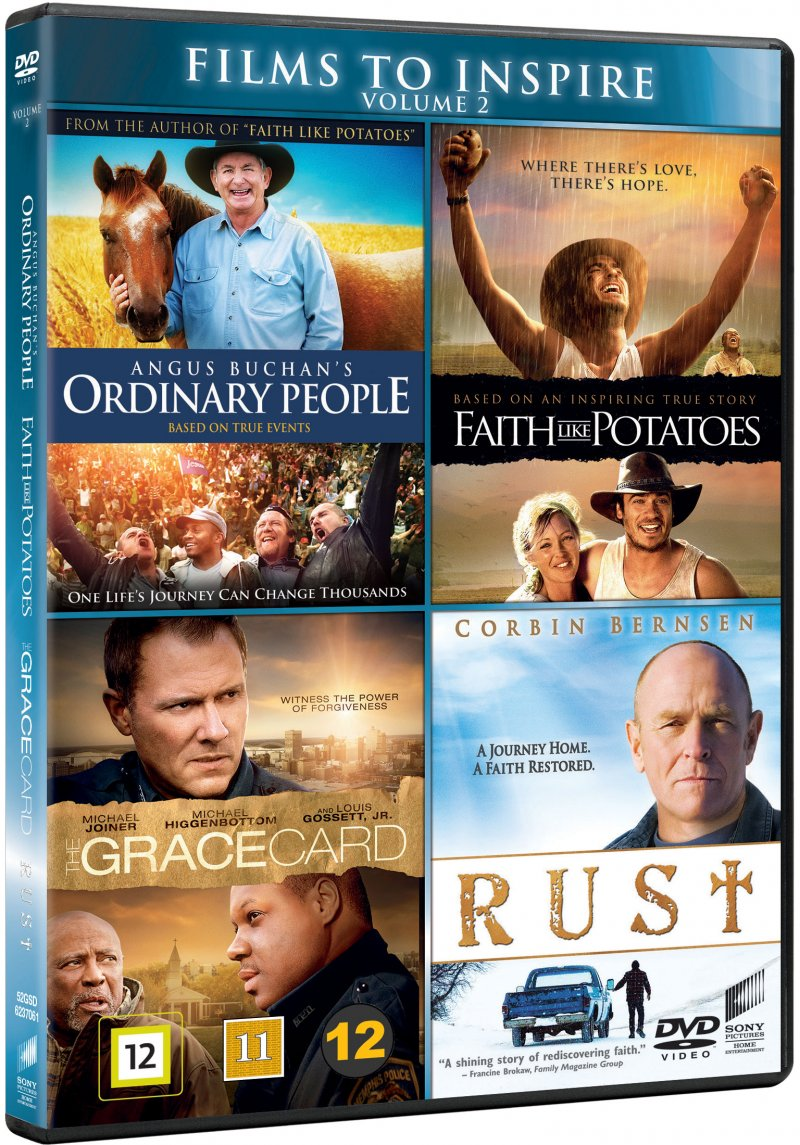 Billede af Angus Buchans Ordinary People // Faith Like Potatoes // The Grace Card // Rust - DVD - Film