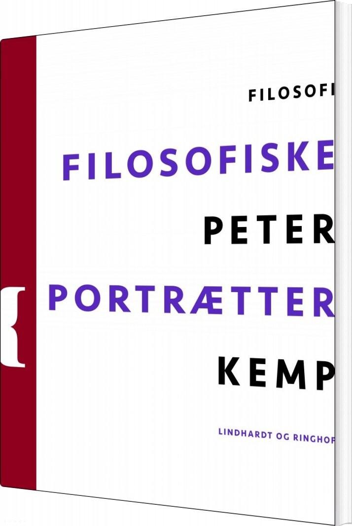 Filosofiske Portrætter - Peter Kemp - Bog