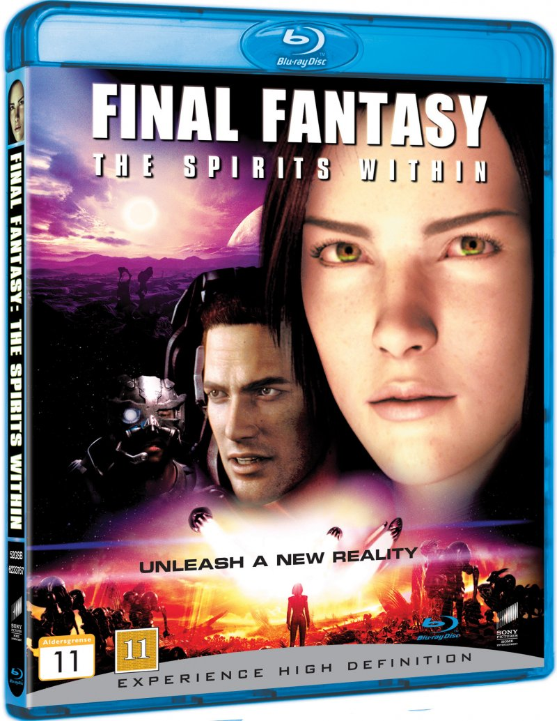 Image of   Final Fantasy - The Spirits Within - Blu-Ray