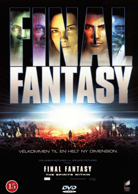 Image of   Final Fantasy - The Spirits Within - DVD - Film