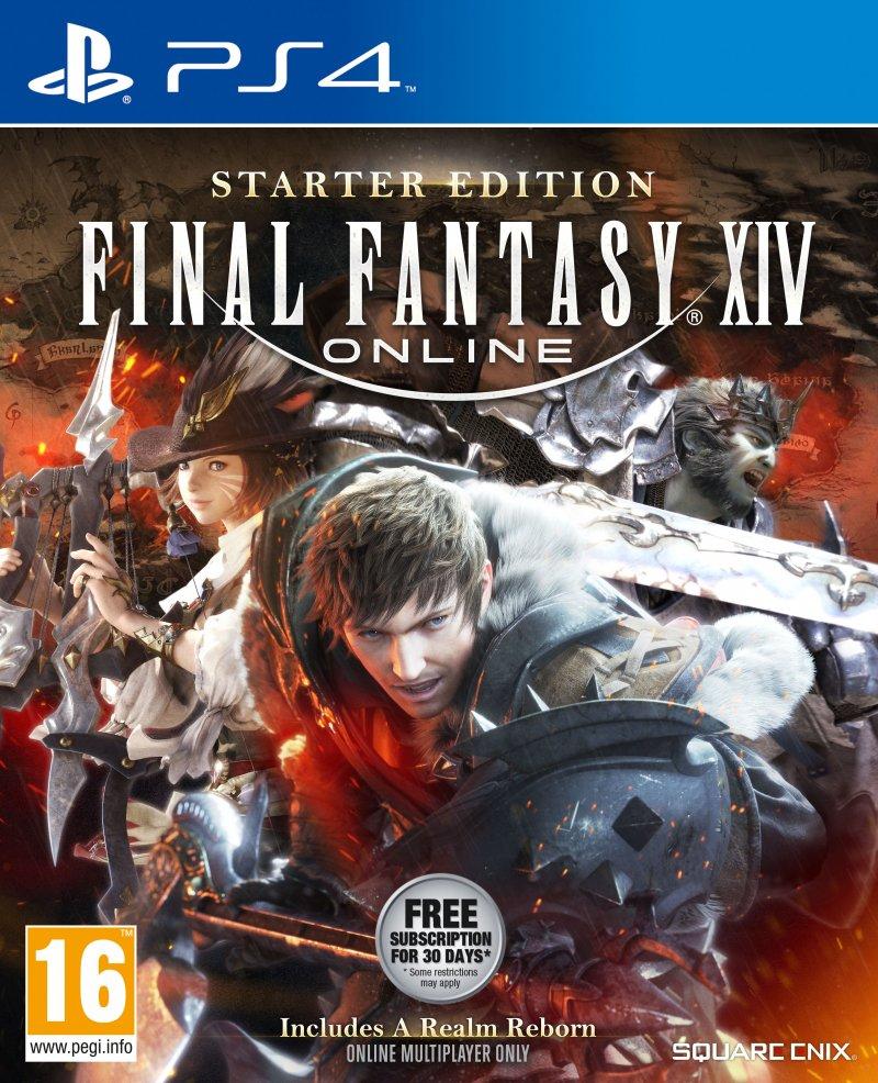Final Fantasy Xiv: Online Starter Edition - PS4