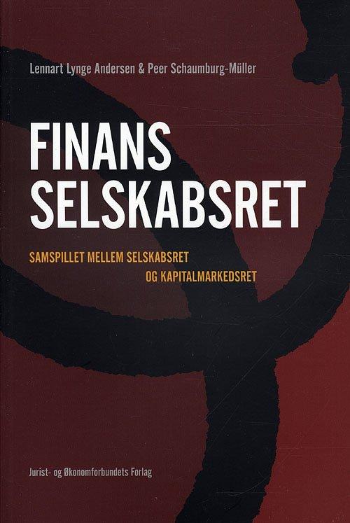 Image of   Finansselskabsret - Schaumburg-müller P - Bog