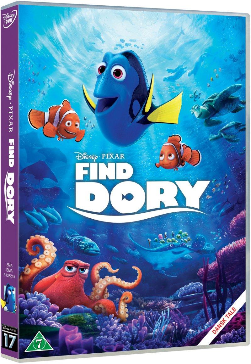 Billede af Find Dory / Finding Dory - Disney Pixar - DVD - Film