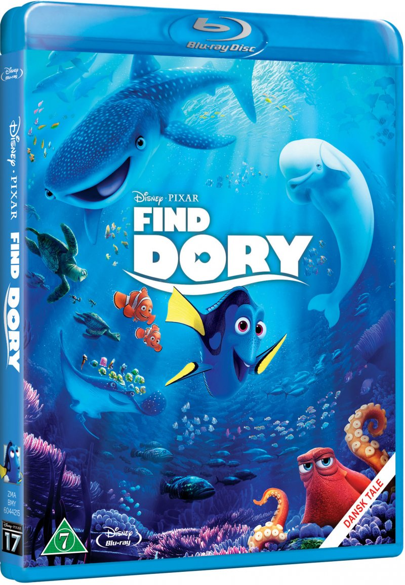 Image of   Find Dory / Finding Dory - Disney Pixar - Blu-Ray