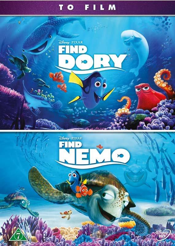 Billede af Find Dory // Find Nemo - Disney Pixar - DVD - Film