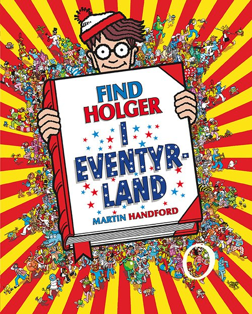 Billede af Find Holger - I Eventyrland - Martin Handford - Bog
