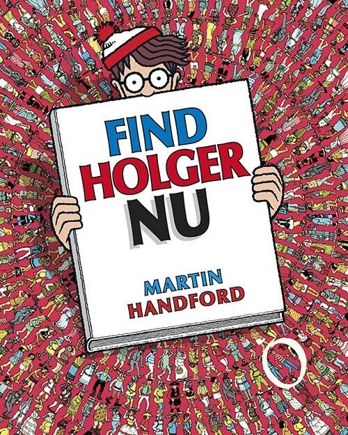 Image of   Find Holger Nu - Martin Handford - Bog