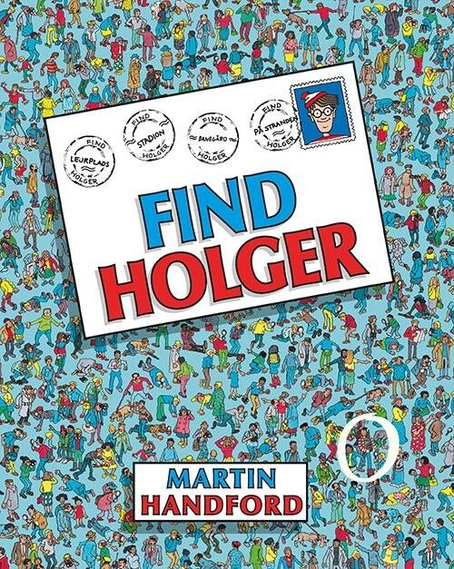 Image of   Find Holger - Martin Handford - Bog