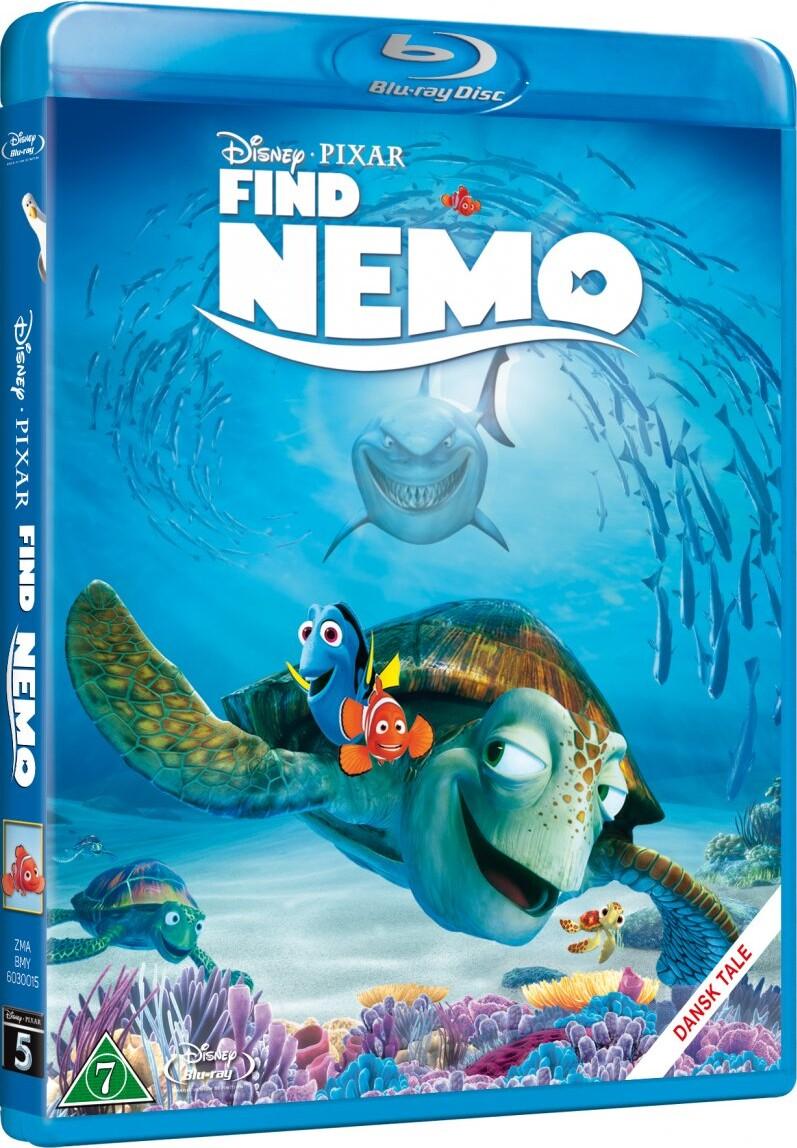 Image of   Find Nemo - Disney Pixar - Blu-Ray