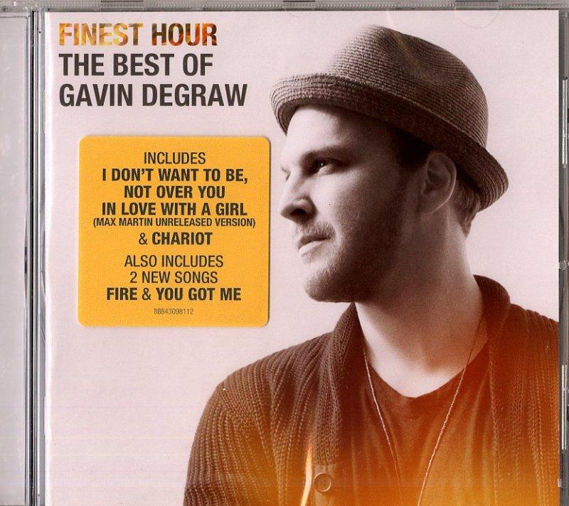 Image of   Gavin Degraw - Finest Hour - The Best Of Gavin Degraw - CD