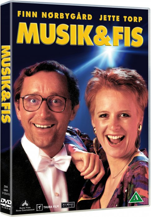 Image of   Finn Nørbygaard Og Jette Torp - Musik Og Fis - DVD - Film